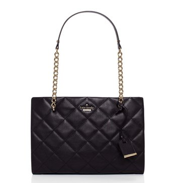 Kate Spade Emerson Place Quilted Shoulder Bag Small Phoebe Black