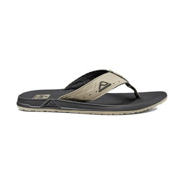 Reef Phantoms Men's Thong Sandal Black/Tan