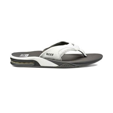 Reef Fanning Men's Thong Sandal Grey/White