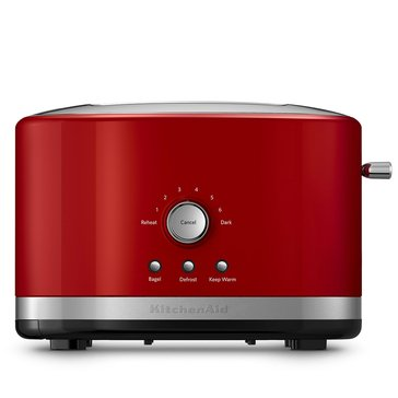 KitchenAid 2-Slice Wide Slot Toaster w/ High Lift Lever, Empire Red (KMT2116ER)