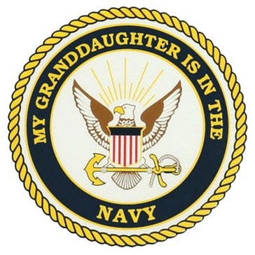 Mitchell Proffitt USN Granddaughter Decal