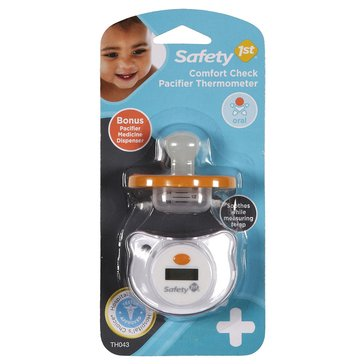 Safety 1st Comfort Check Pacifier Thermometer with Medicine Dispenser