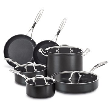 KitchenAid Hard Anodized Non-Stick 10-Piece Cookware Set