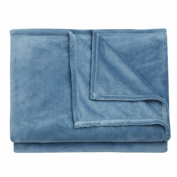 Berkshire King Blanket, Stone Blue