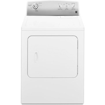 Kenmore 7.0-Cu.Ft. Electric Dryer, White (26-62342)