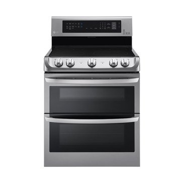 LG 7.3-Cu.Ft. Double Oven Electric Range, Stainless Steel (LDE4415ST)