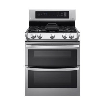 LG 6.9-Cu.Ft. Double Oven Gas Range, Stainless Steel (LDG4315ST)