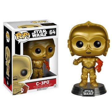 Pop! Star Wars: Star Wars Episode 7 - C-3PO Bobble Figurine