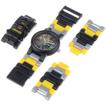 LEGO Kids' Batman Minifig Watch