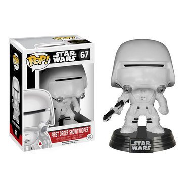 Pop! Star Wars: Star Wars Episode 7 - First Order Snowtrooper Bobble Figurine