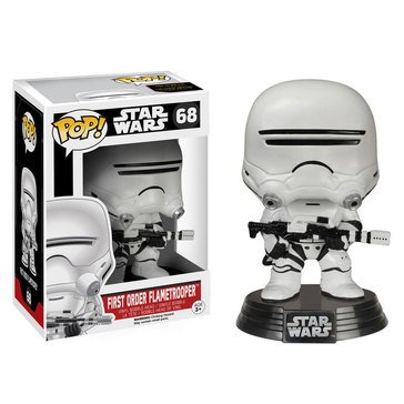 Pop! Star Wars: Star Wars Episode 7 - First Order Flametrooper Bobble Figurine