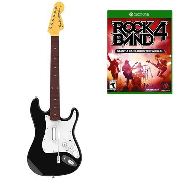 Mad Catz Xbox One Rock Band 4 Stratocaster Bundle (RB491168NM02)