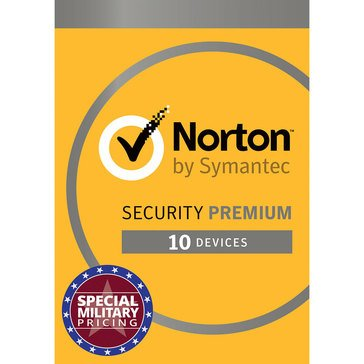 Norton Security With Backup 2.0 25GB: 1 User, 10 Devices