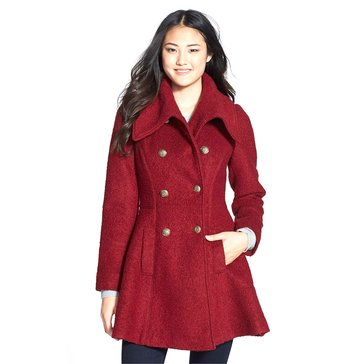 Guess Women's Wool Fit and Flare jacket