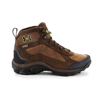 Under Armour Wall Hanger Leather Mid Men's Hiking Shoe Uniform