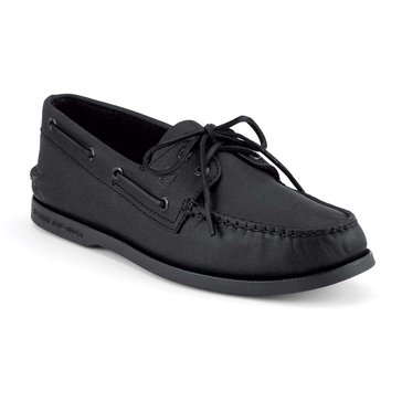 Sperry Authentic Original 2 Eye Men's Boat Shoe Black
