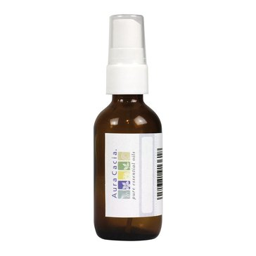 Aura Cacia Empty Amber Mister Bottle with Writeable Label 2oz