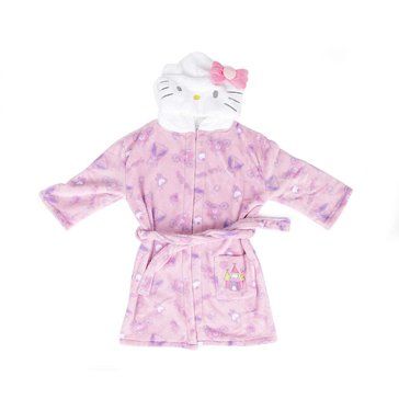 HK PRINCESS HOODED BATHROBE