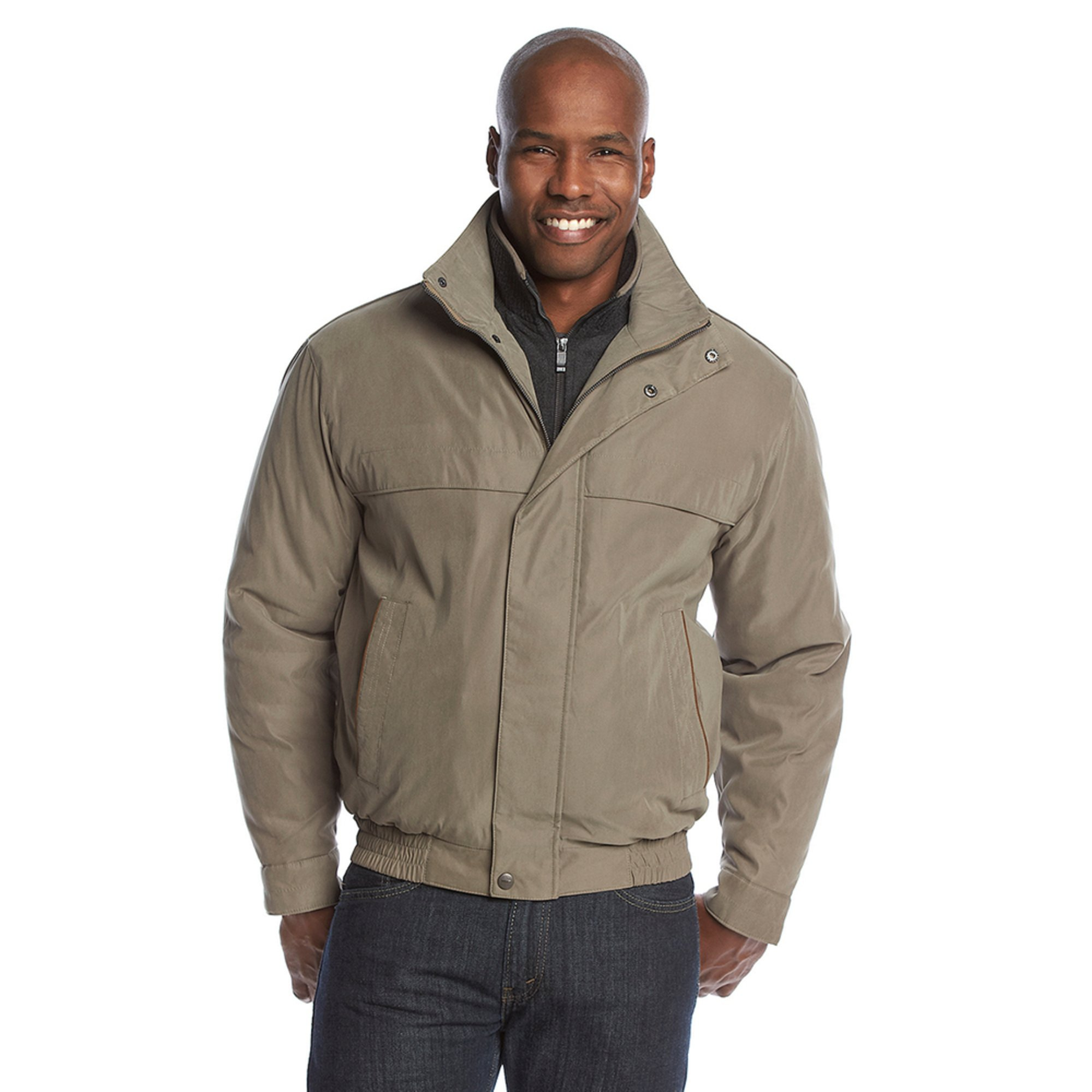Weatherproof Microfiber Bomber Jacket Men S Clothing