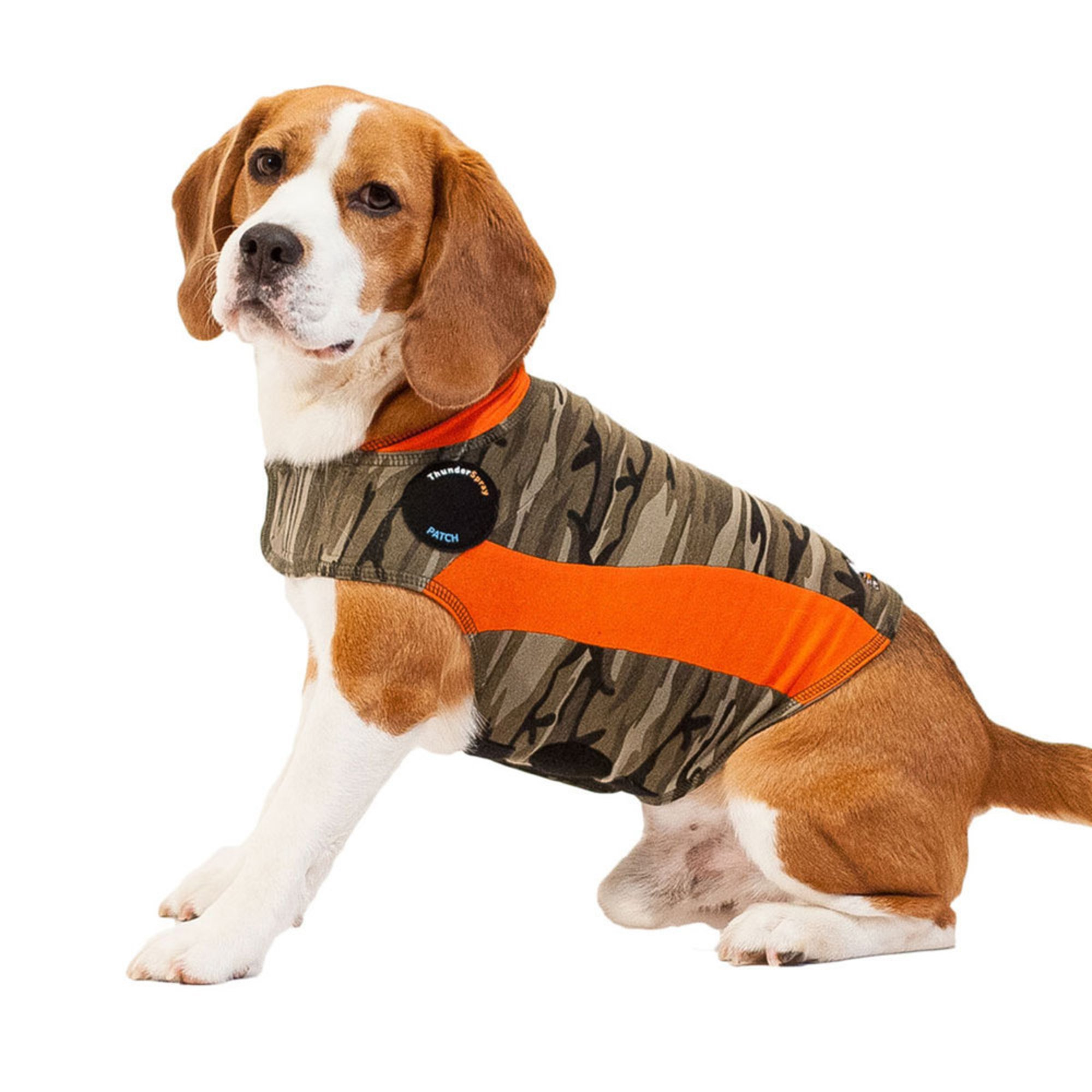 I have not seen the Thundershirt provide any reduction in anxious behavior whatsoever in the dogs I have seen it used on. The Thundershirt fits like a regular dog coat and may provide some relief because of the ability to adjust the tightness of the fit with the velcro closures.