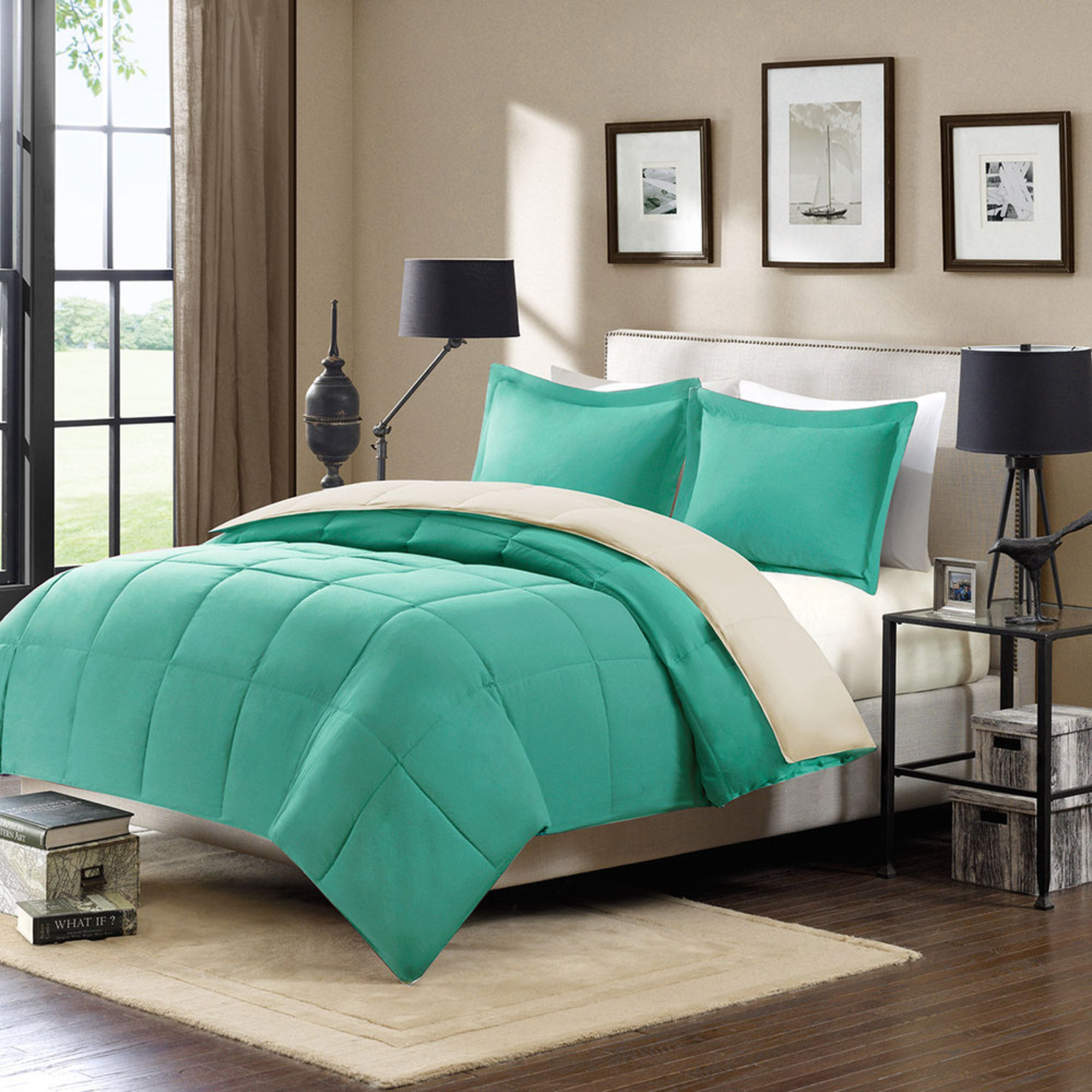 28 home design mini stripe down alternative queen comforter home design mini stripe down alternative queen comforter harbor home down alternative reversible mini set teal