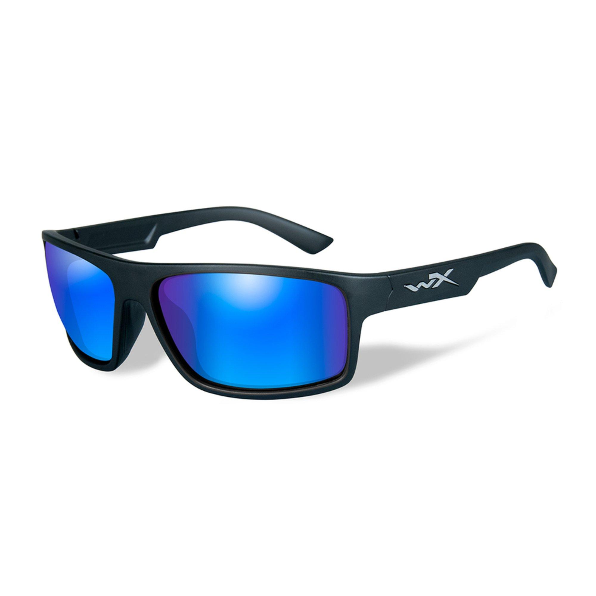 975dc49e36 Wiley X Men s Polarized Wx Peak Sunglasses