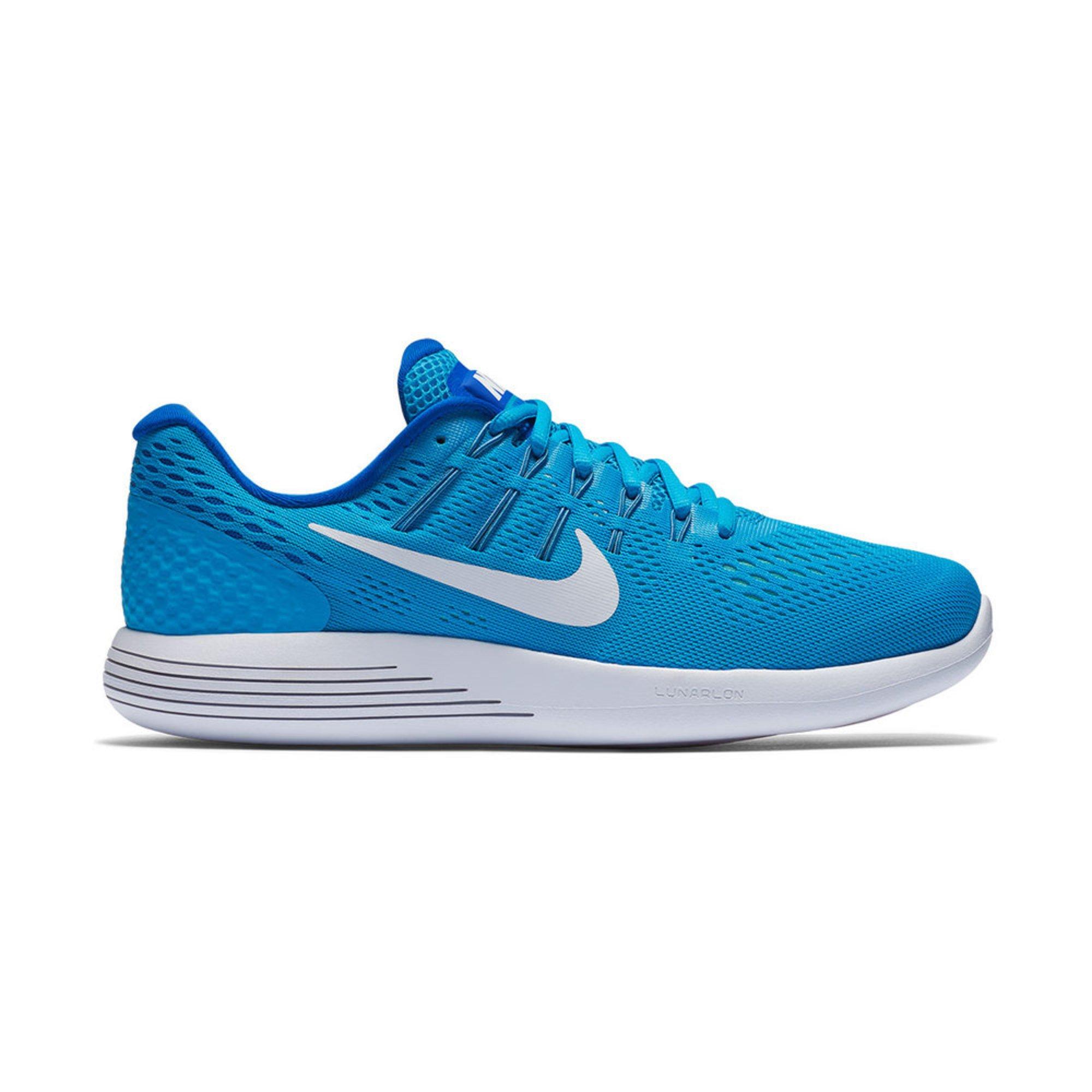 Nike LunarGlide 8 Women\u0026#39;s Running Shoe Blue Glow / Racer Blue / Hyper Turq / White