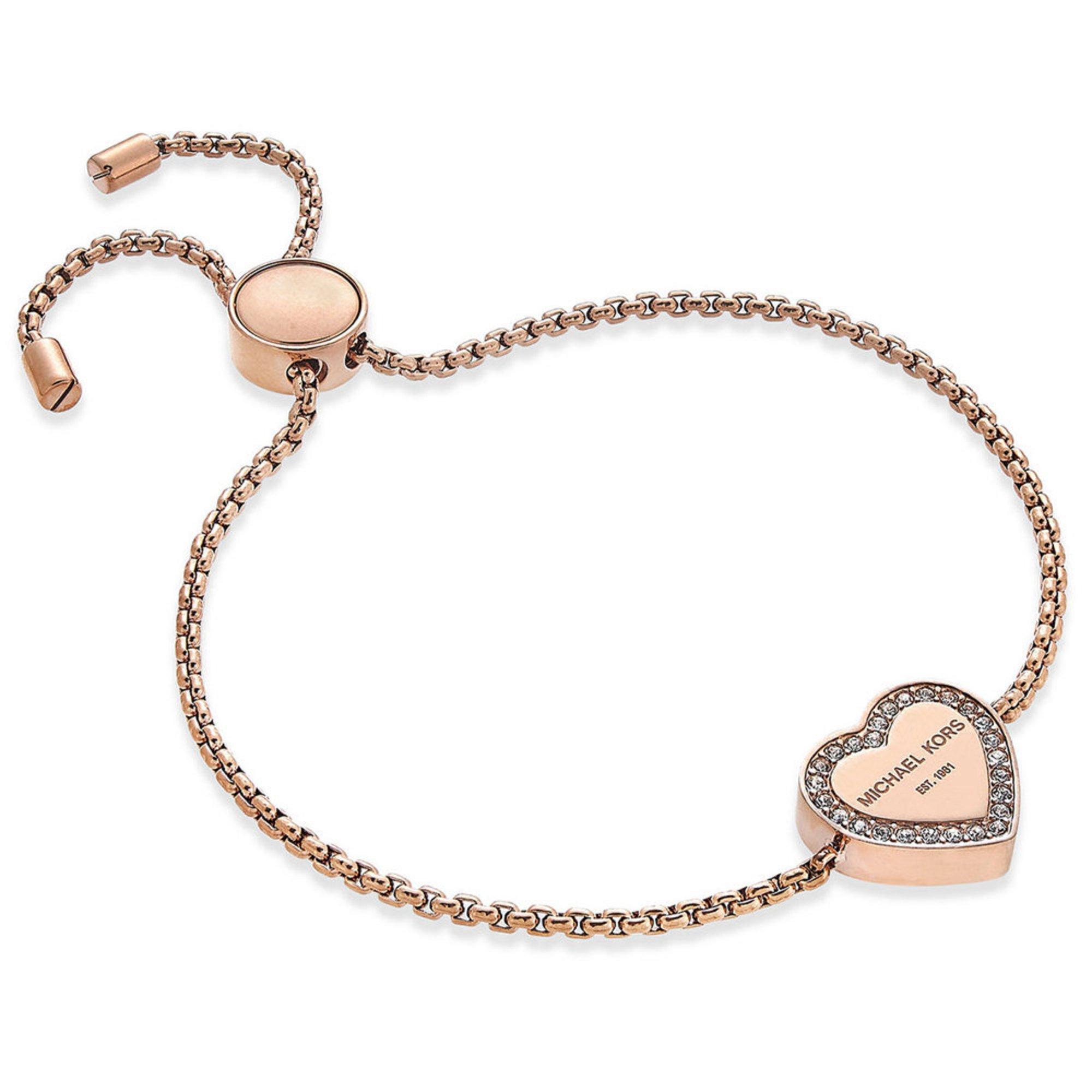 michael kors gold tone heritage bracelet