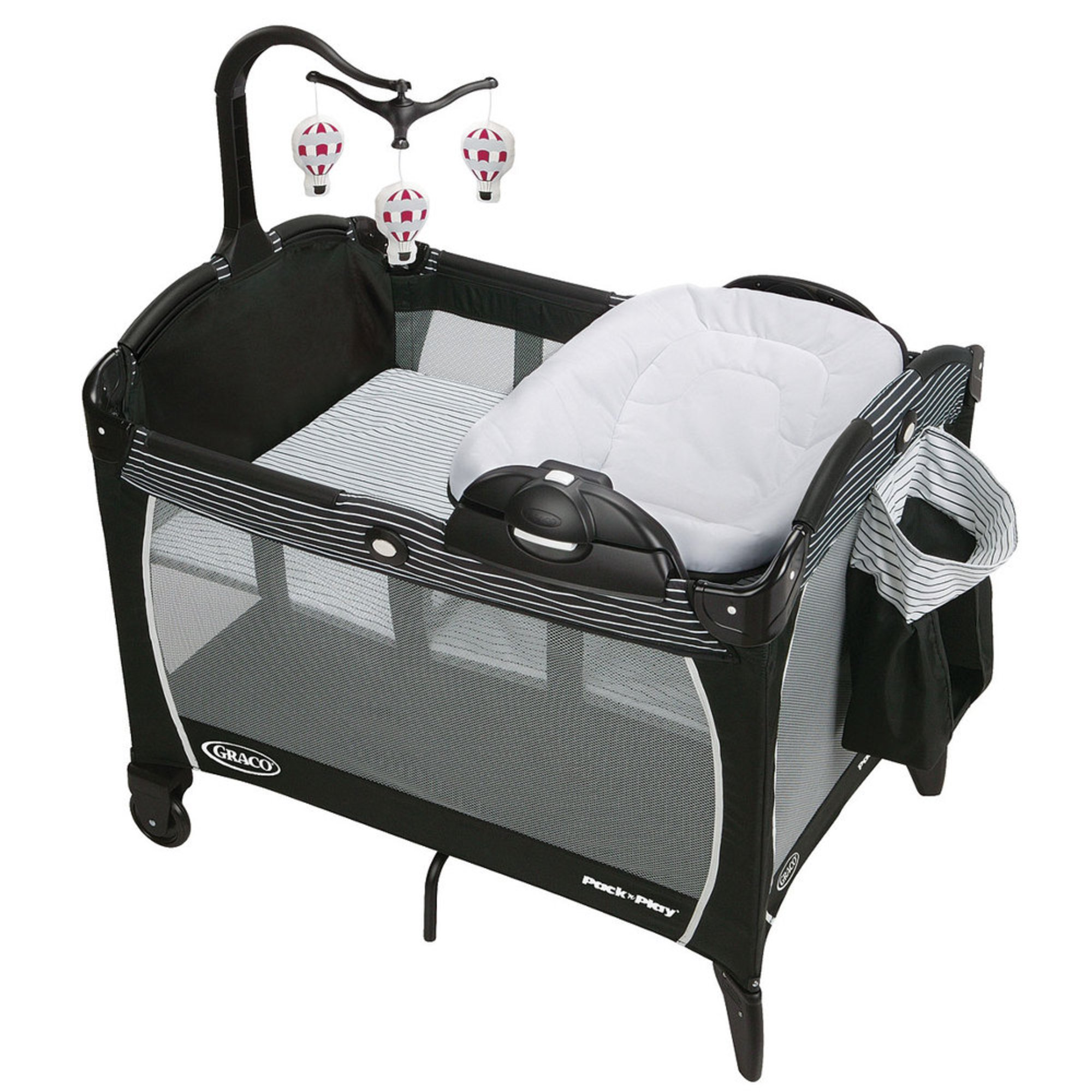 graco pack 39 n play portable playard with reversible napper changer studio playards baby. Black Bedroom Furniture Sets. Home Design Ideas