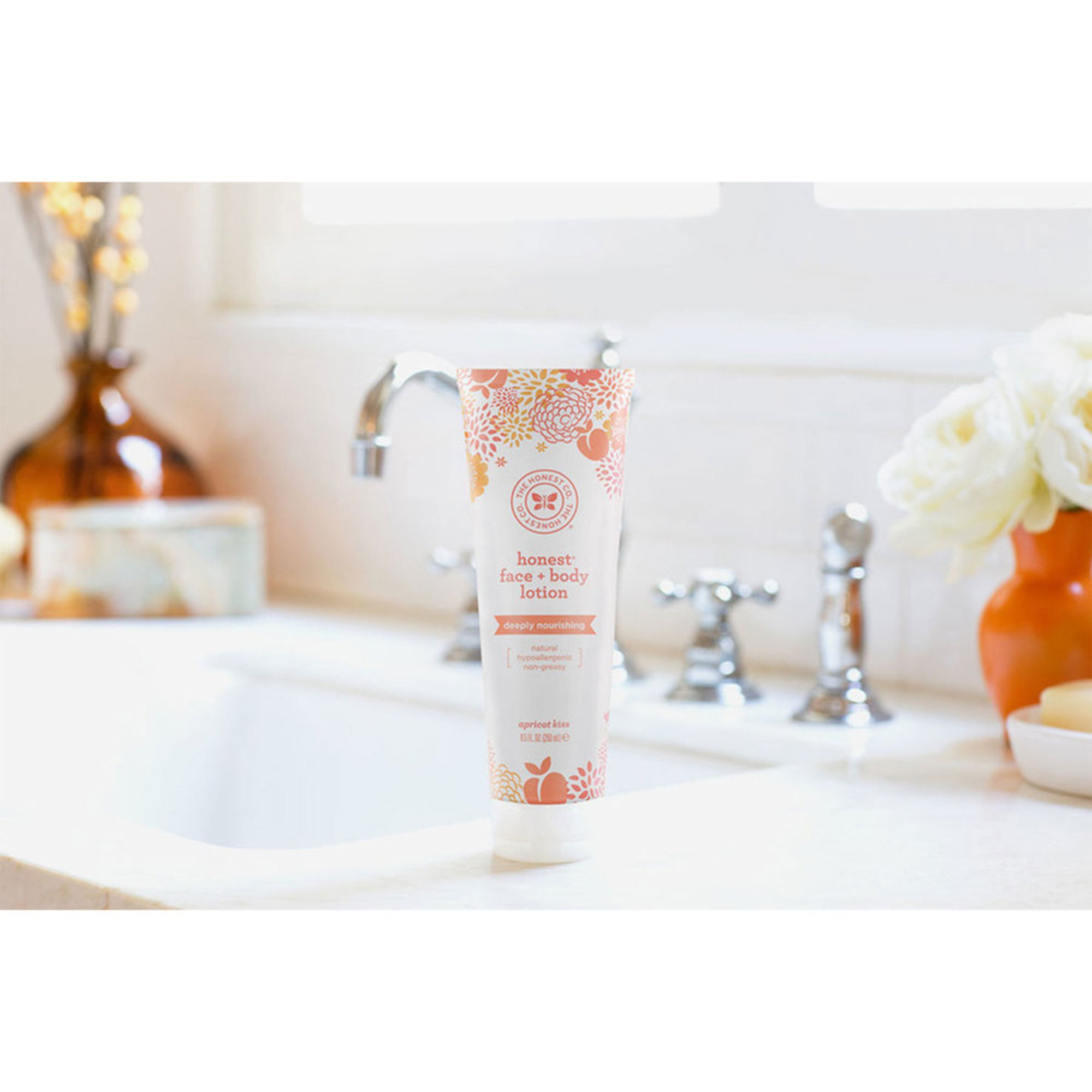 Kiss For Women By Kiss Lovin Body Lotion 6 7 Oz: The Honest Company Face + Body Lotion, Apricot Kiss 8.5oz