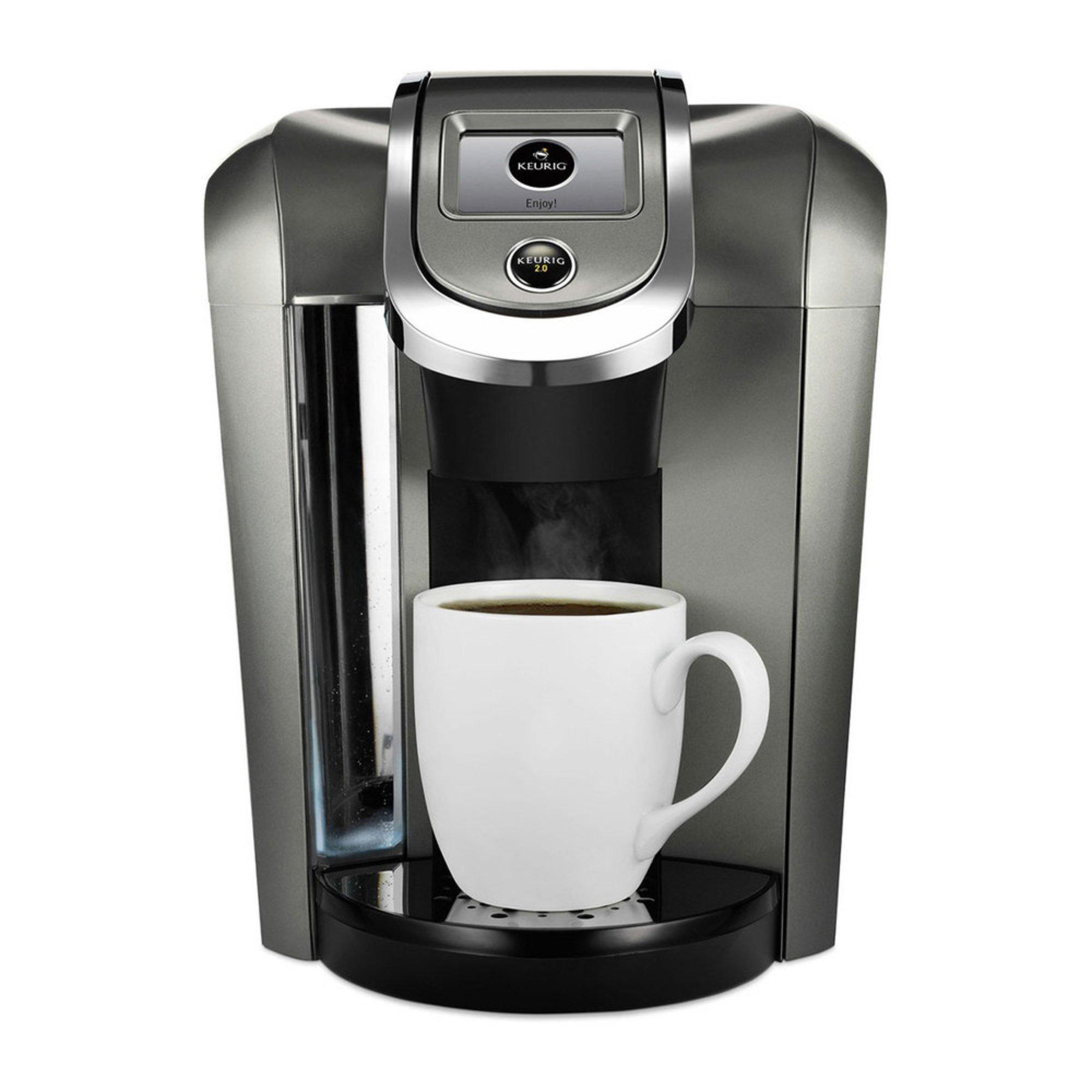 Navy Coffee Maker ~ Keurig plus series k brewer platinum single