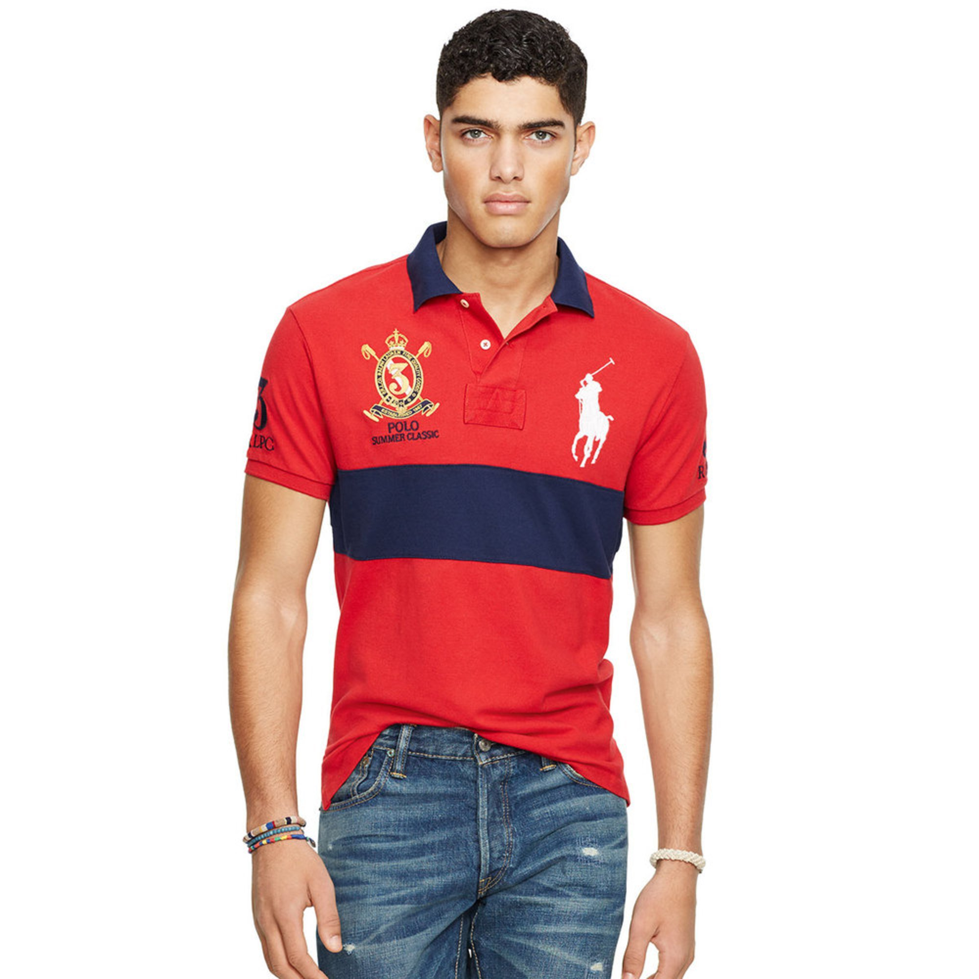 Big Men Polo Clothing Sexy Stripers