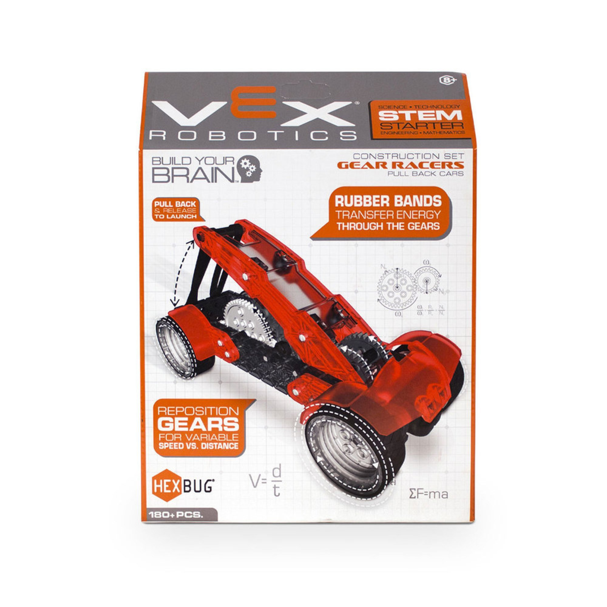 Vex Robotics Single Gear Racer By Hexbug Remote Controlled Toys