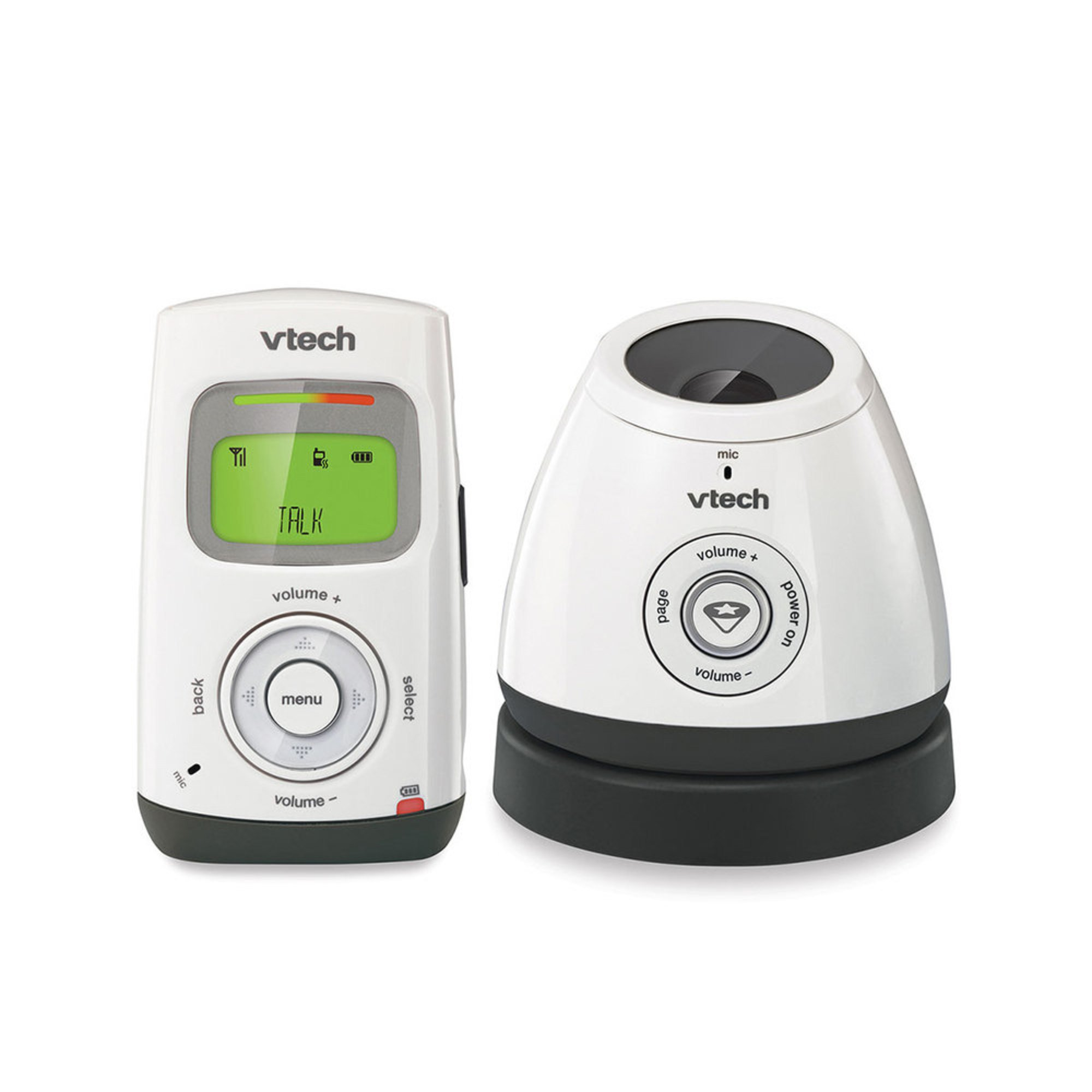 vtech safe sound digital audio monitor w glow on ceiling night light. Black Bedroom Furniture Sets. Home Design Ideas