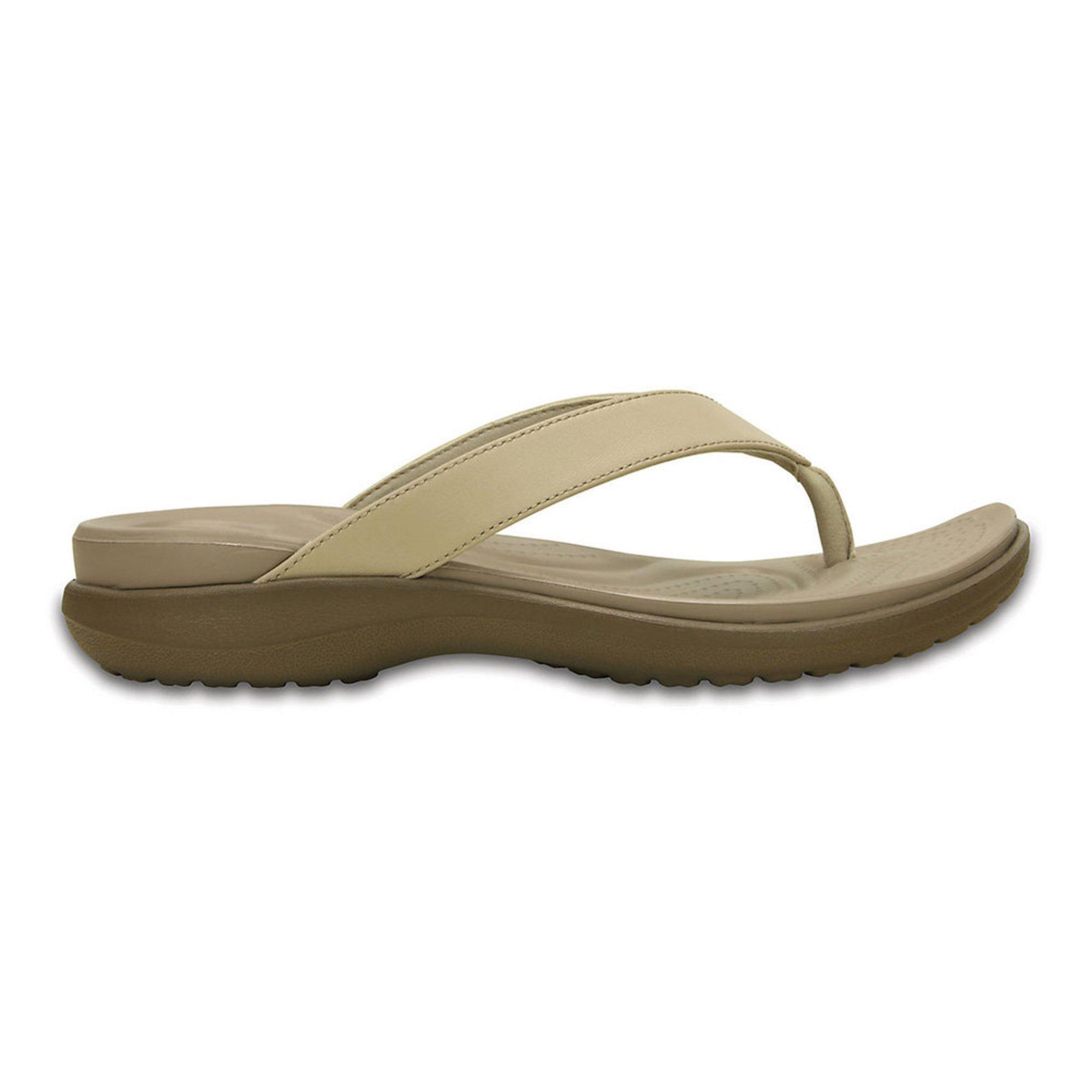 9283cff03 Crocs Women's Capri Flip Wedge | Women's Sandals | Shoes - Shop Your ...