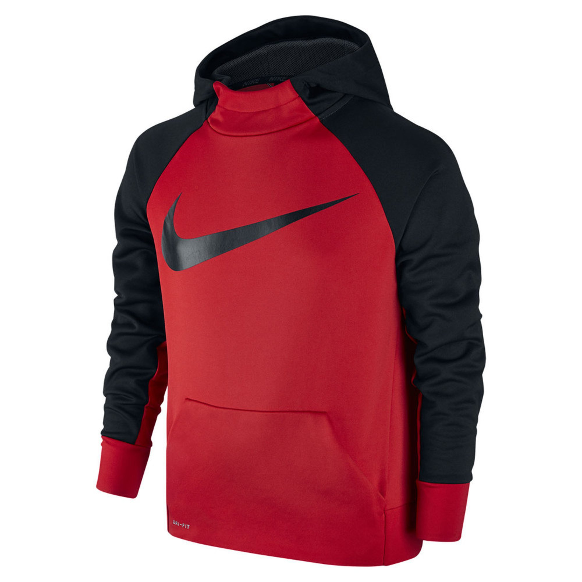 Nike Boys' Therma Pull-over Hoodie, Red | Big Boys ...