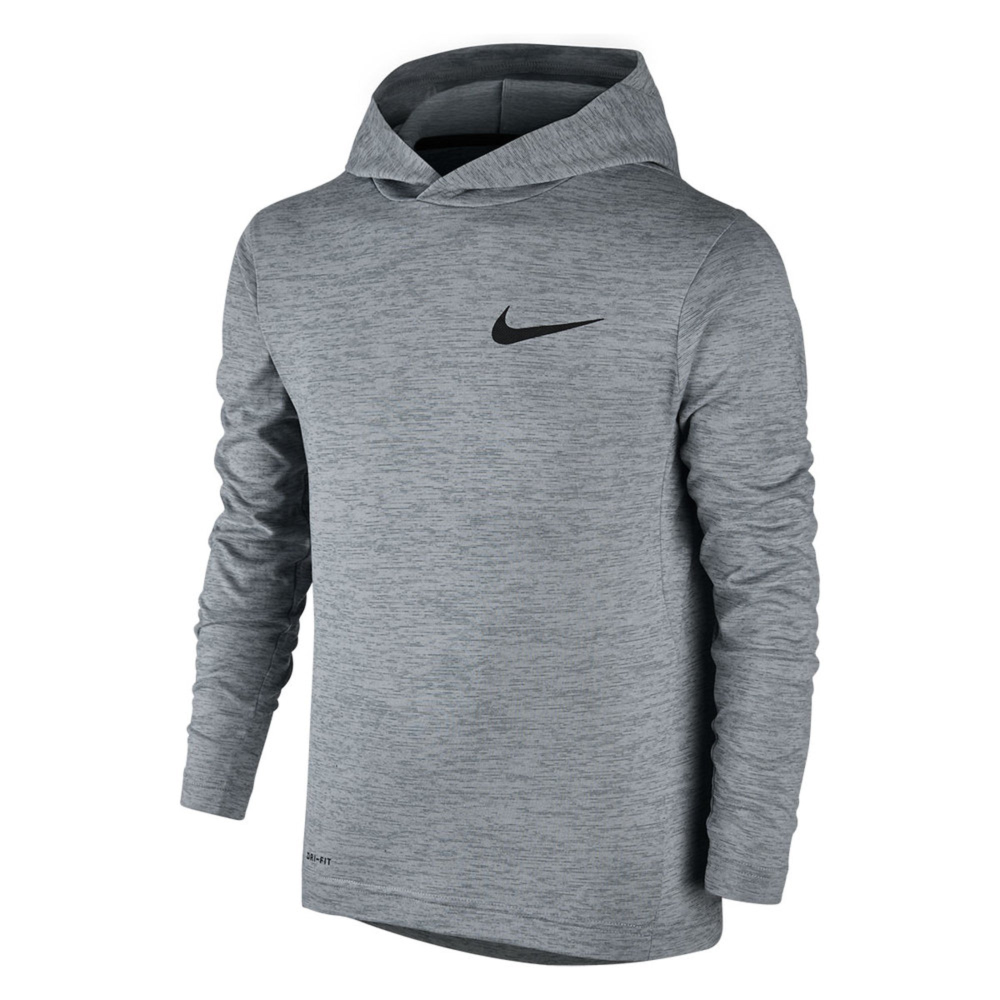 Nike Big Boys' Dri-fit Training Hoodie, Grey | Big Boys ...
