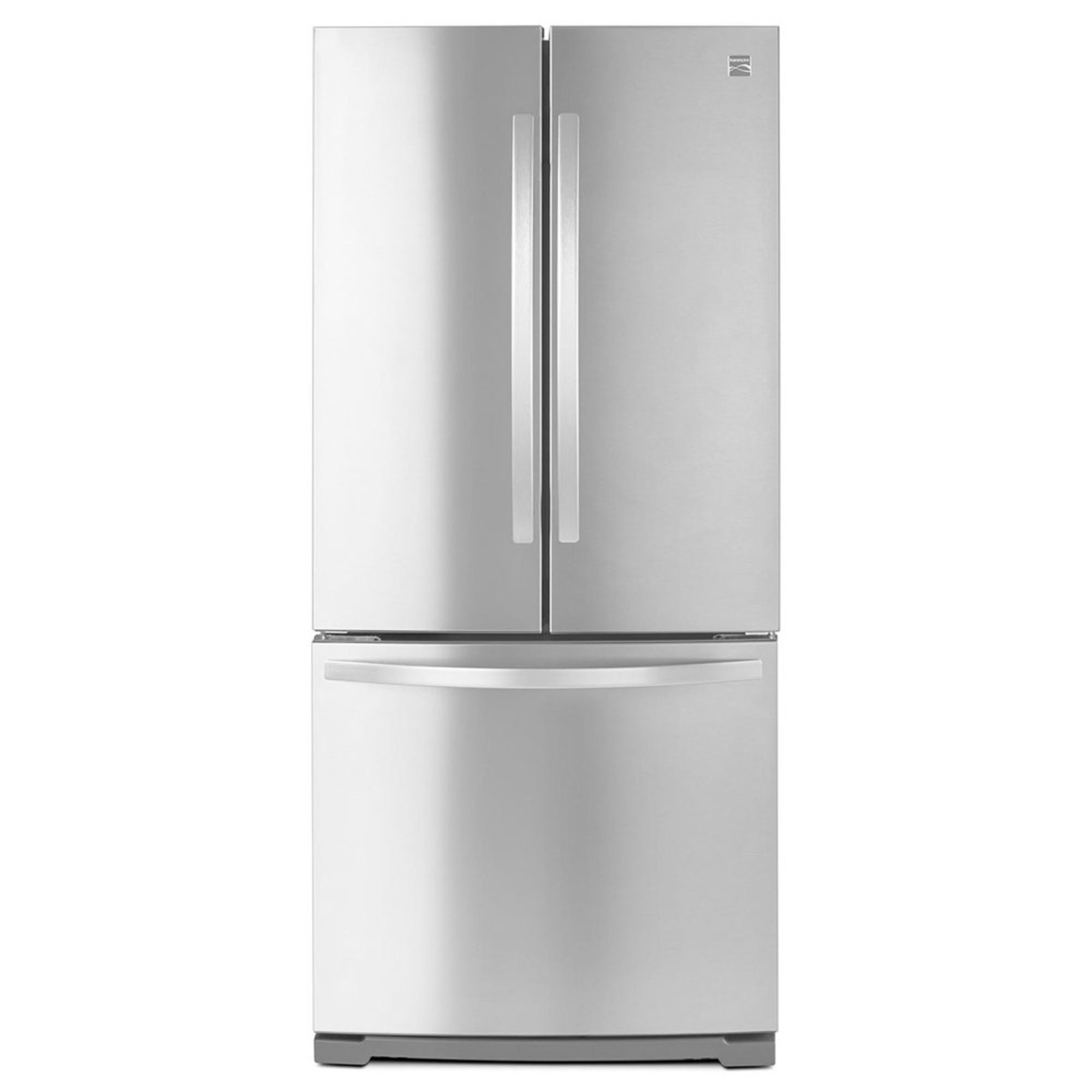 Kenmore 19 5 french door refrigerator stainless for 19 5 cu ft french door refrigerator