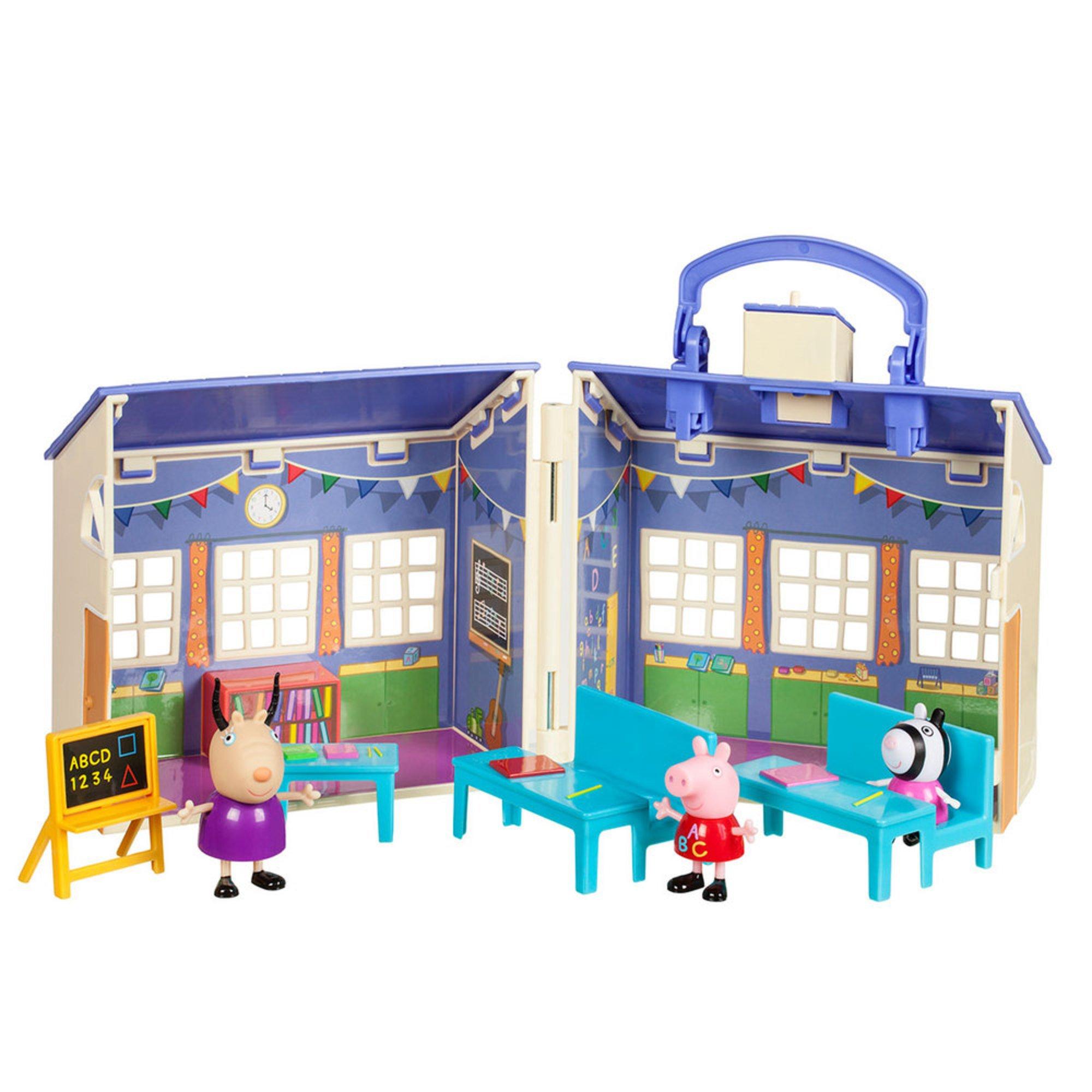 Peppa Pig Peppa's Deluxe School House Playset | Early ...
