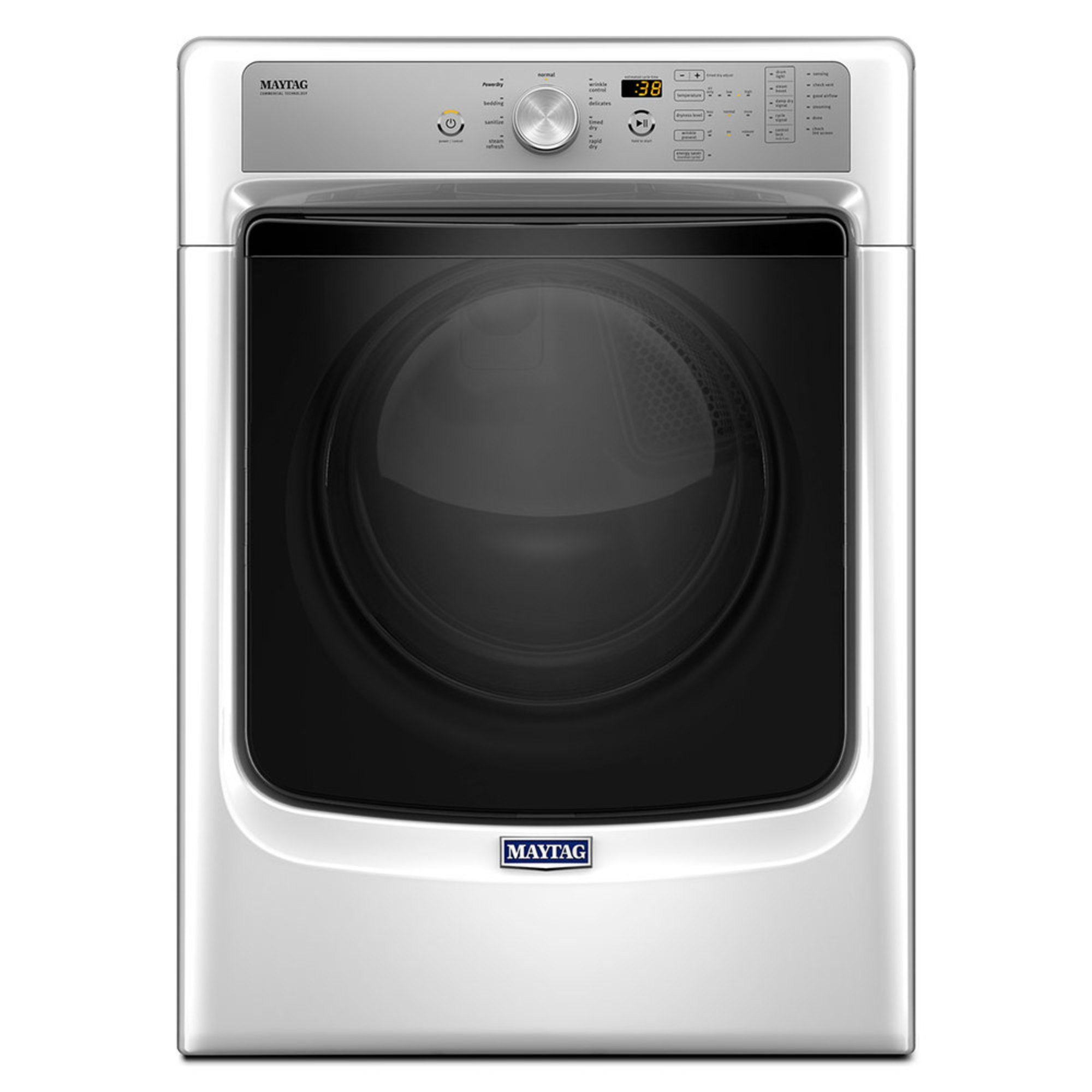 Rapid Electric Dryer Wiring Diagram For Stand Schematic Clothes Maytag 7 4 Cu Ft W Sanitize Powerdry White