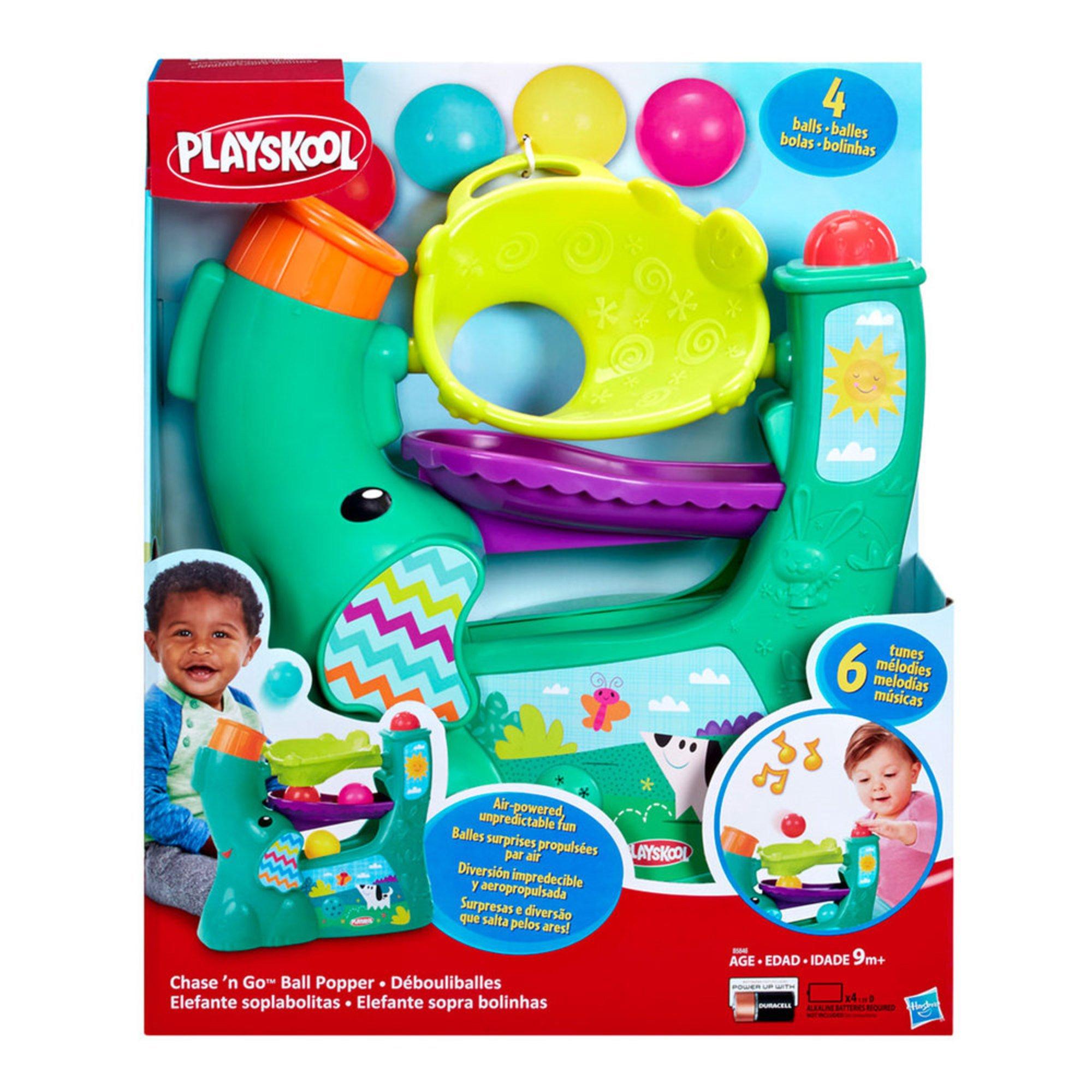 Best Ball Popper Toys For Kids : Playskool chase n go ball popper early learning toys
