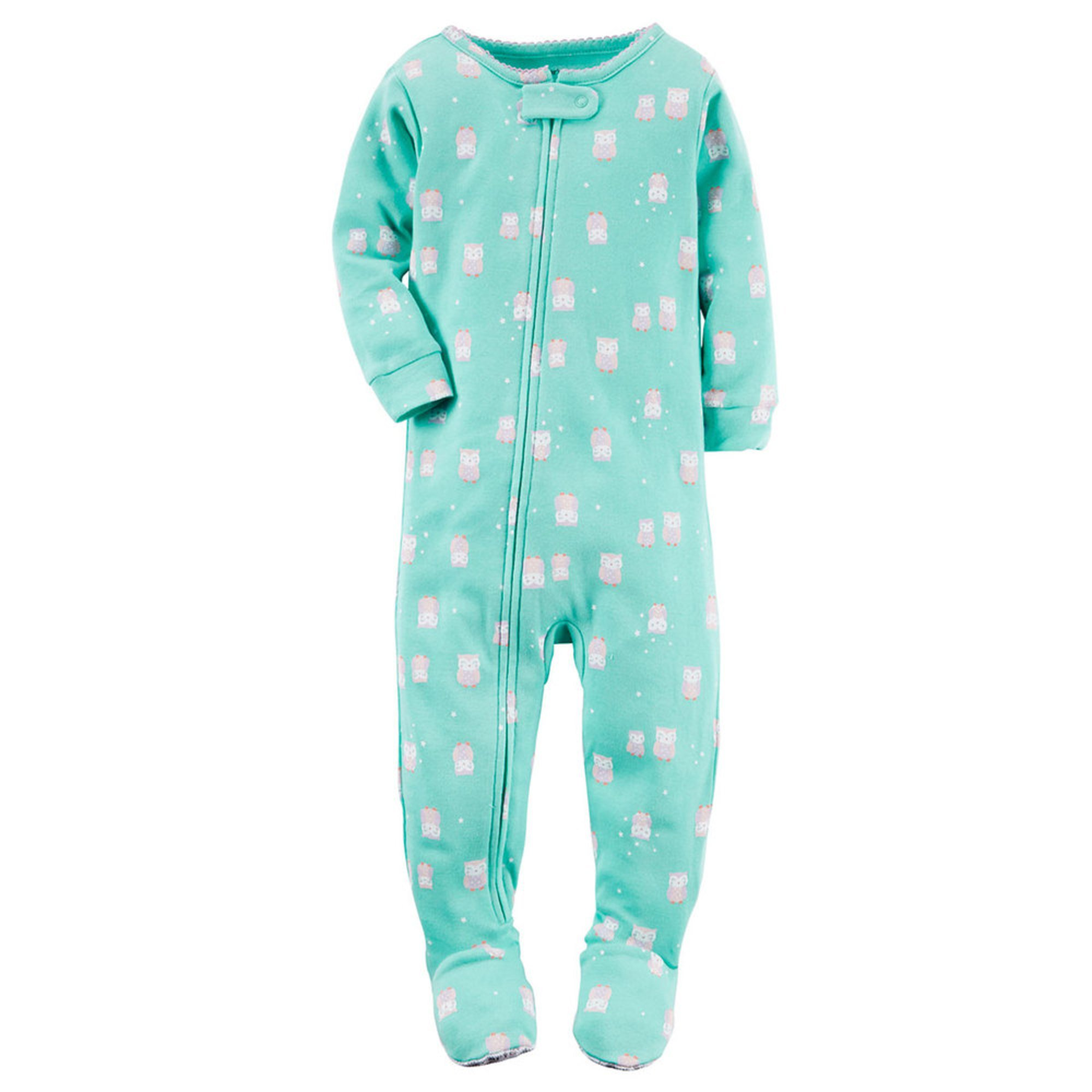Owl Yours Adult Footie Zip right up! Our Footeez pajamas are here to wrap you in cozy comfort from head to toe. Made from super soft polar fleece, Footeez feature a %(2).