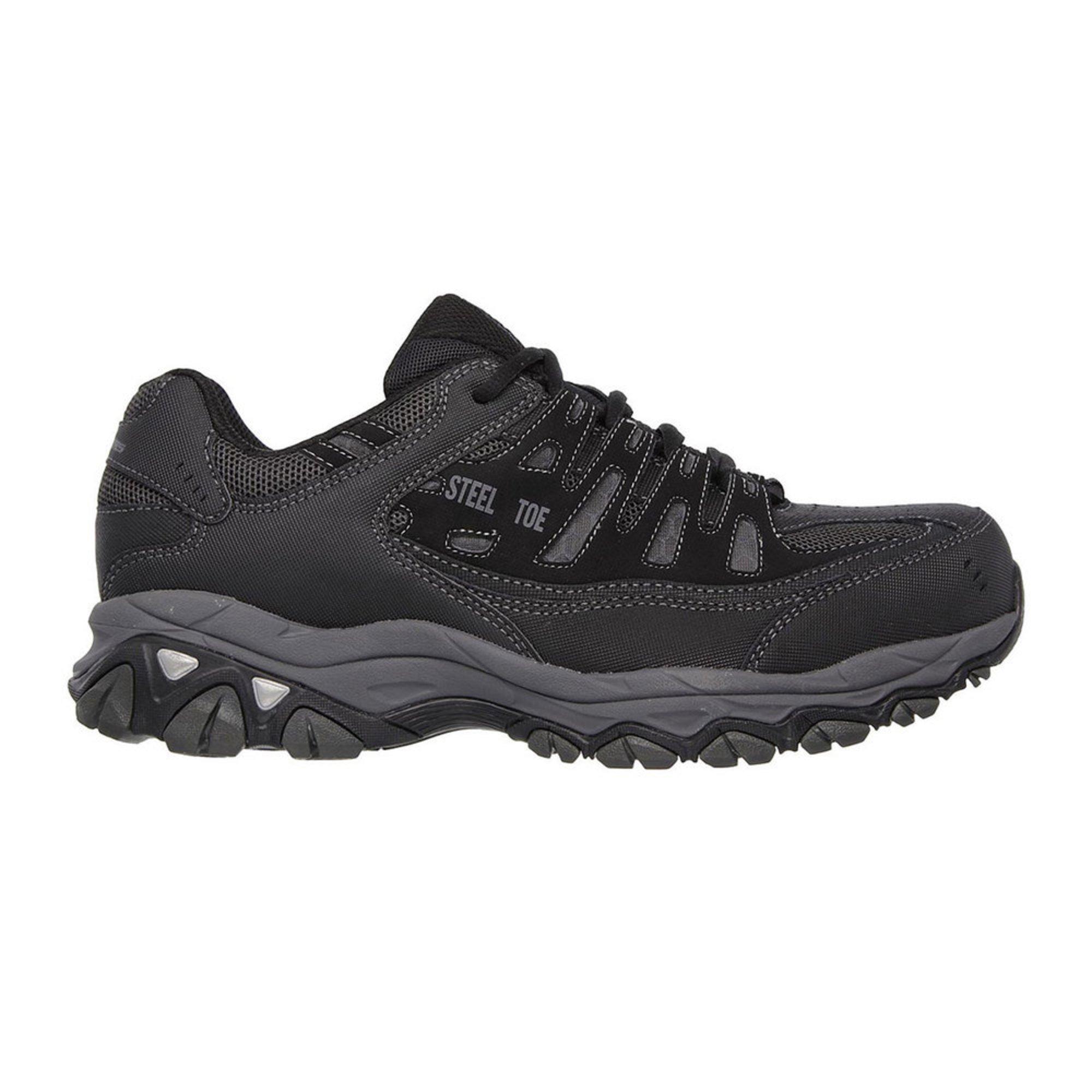 arriving good service 100% genuine Skechers Men's Crankton Steel Toe Sneaker