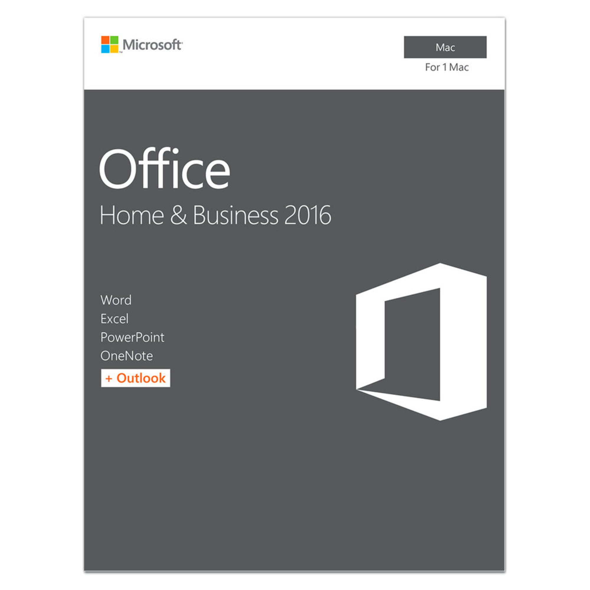microsoft office home & business 2016 edition (pc)