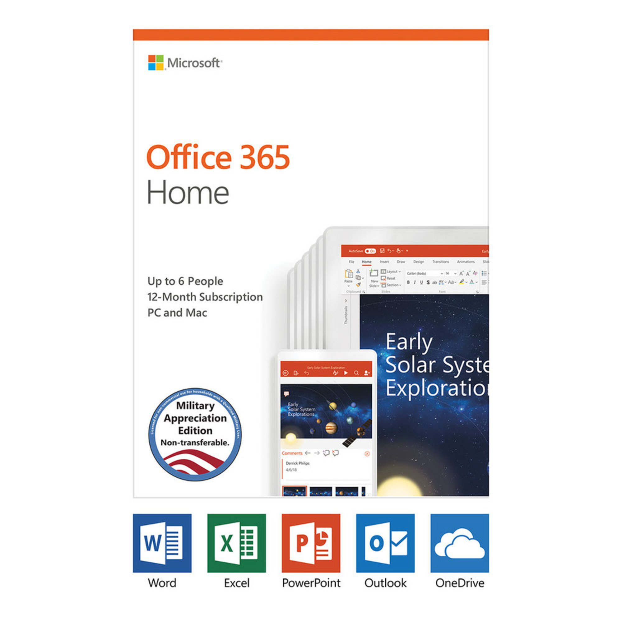 Microsoft Office 365 Home Subscription - Military Appreciation ...
