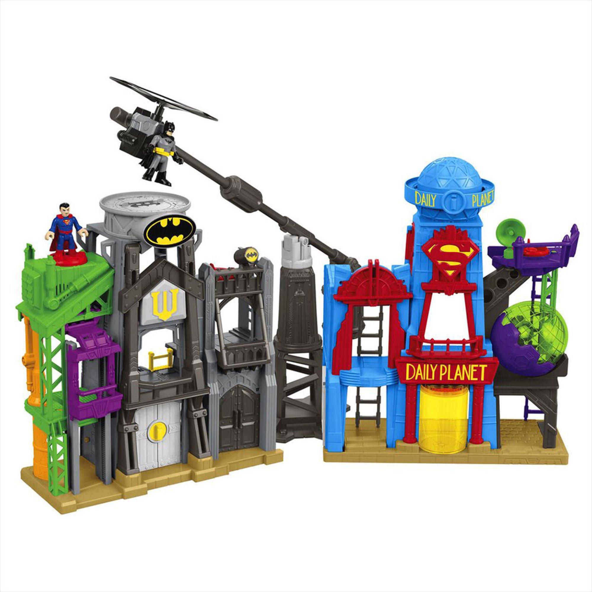 Imaginext Dc Super Friends Super Hero Flight City ...