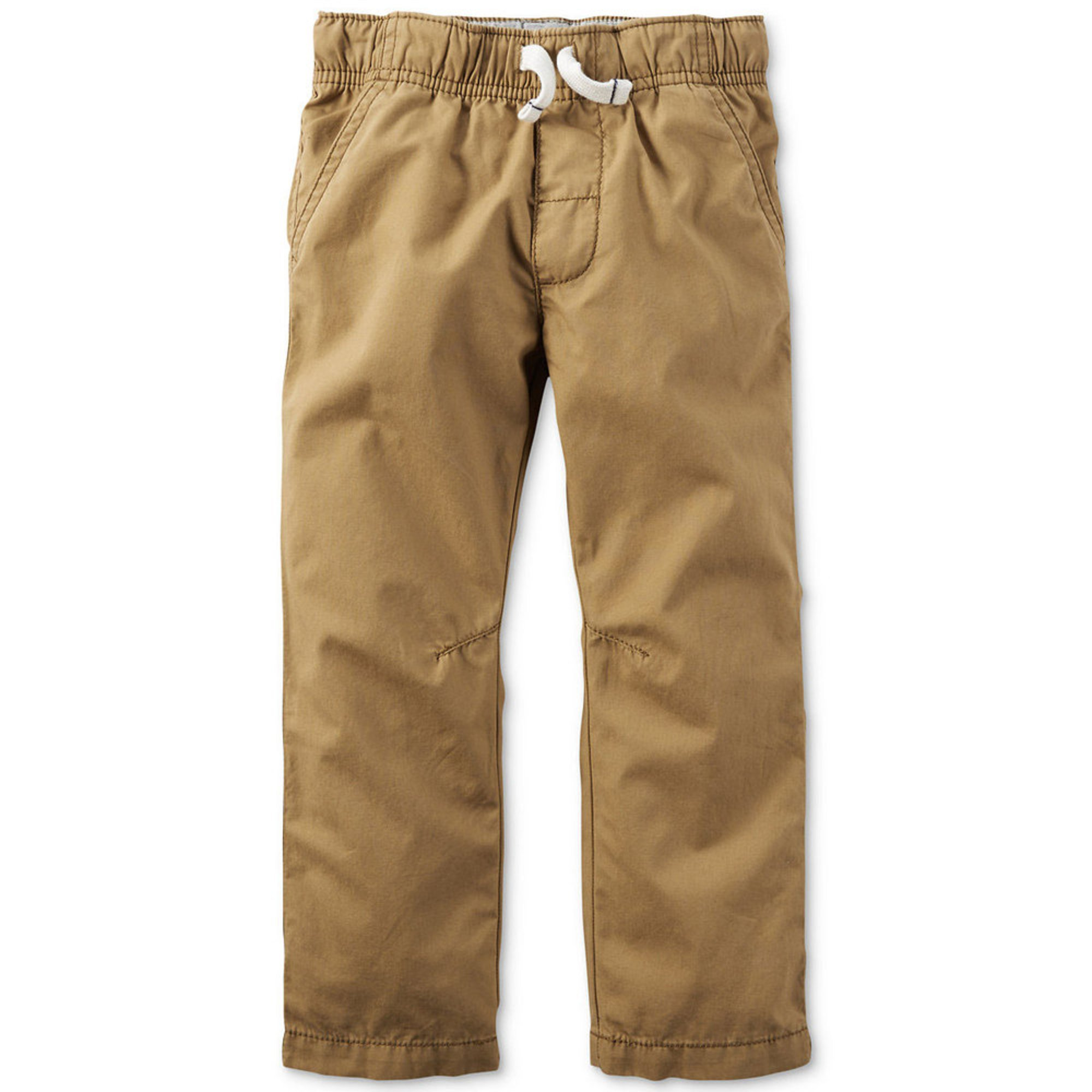 Khakis are a type of casual pants suitable for everyday wear. You can find them in the traditional khaki color that the name comes from, but they're also available in a variety of neutral hues such as black, brown, and blue. Khakis are an excellent choice for casual dinners, family get-togethers, and any informal or semi-formal occasion.