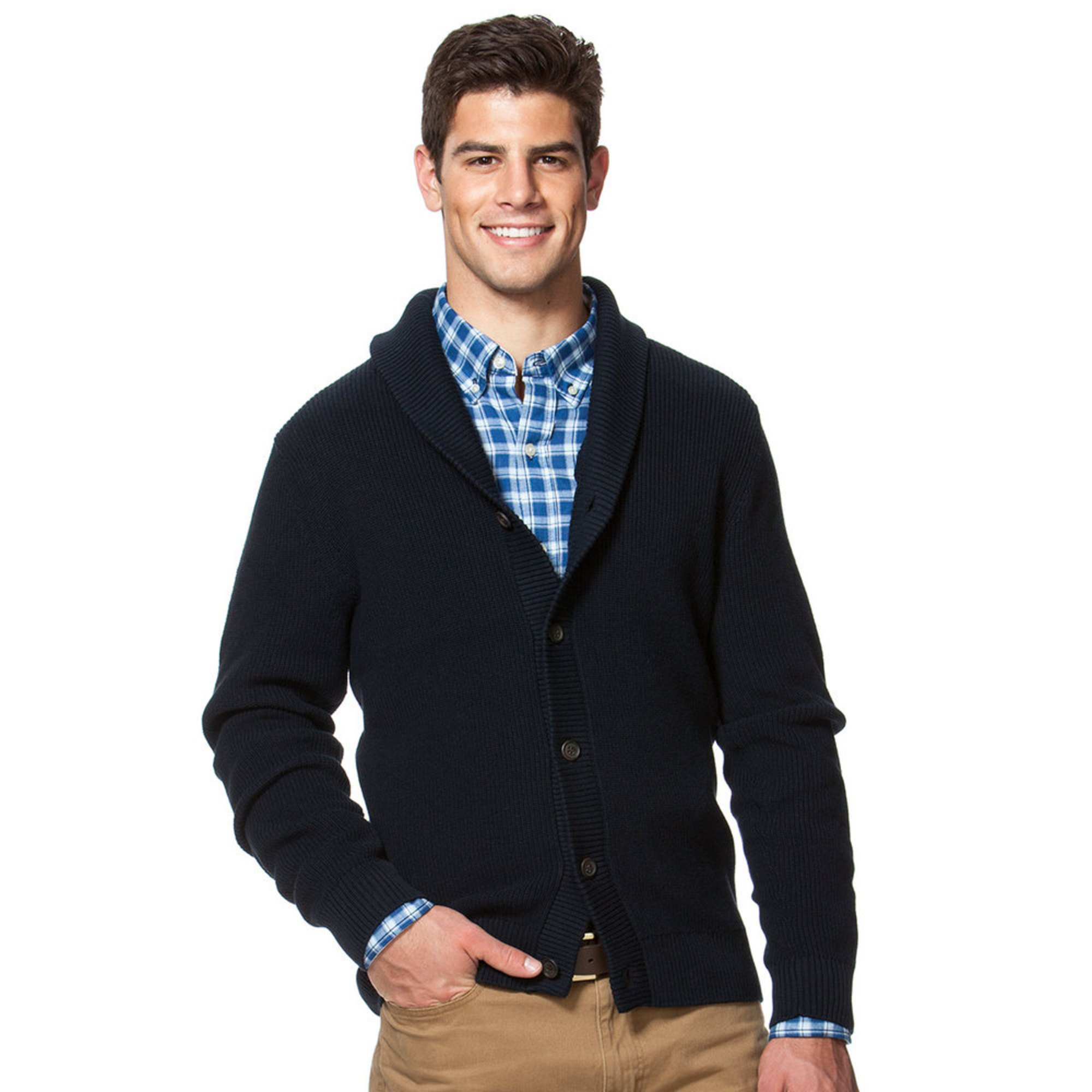 chaps s shaker cardigan s clothing shop