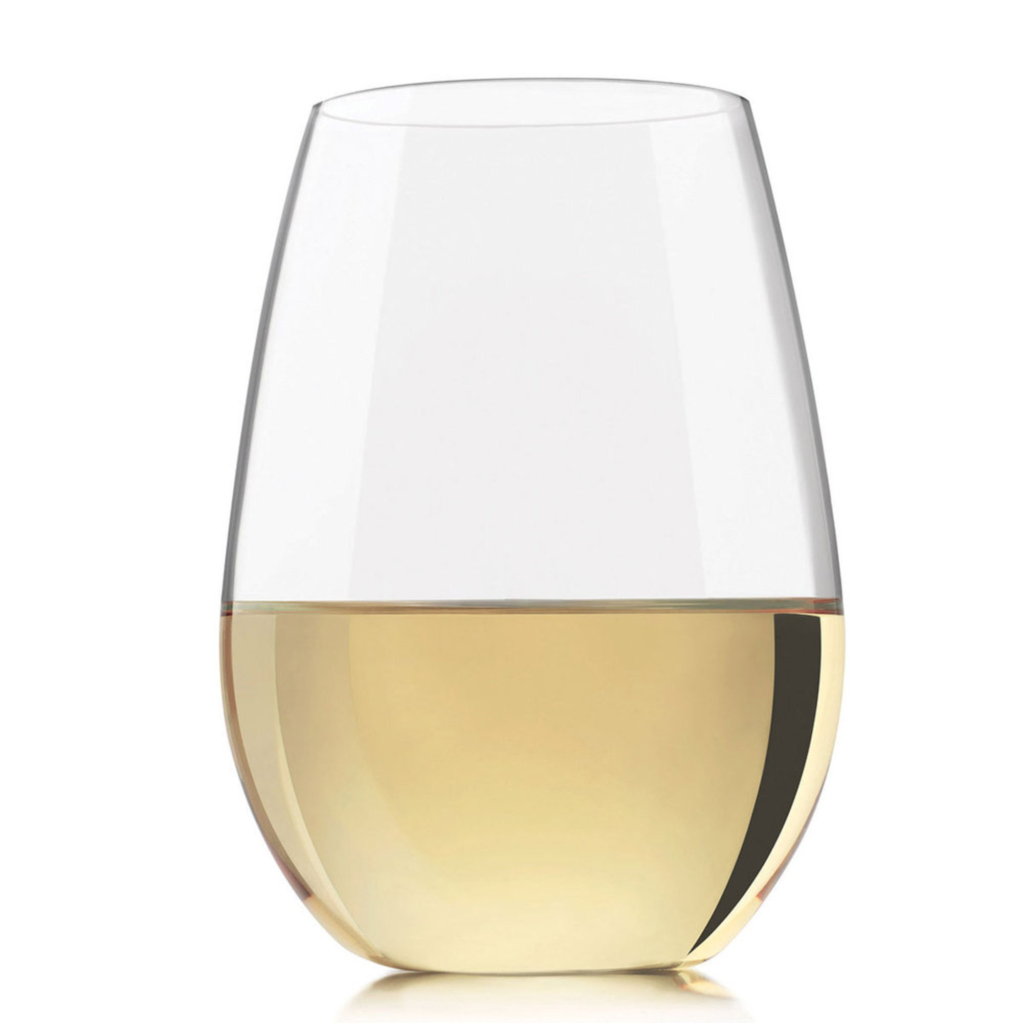 Libbey Kentfield Stemless White Wine Glasses, Set Of 4