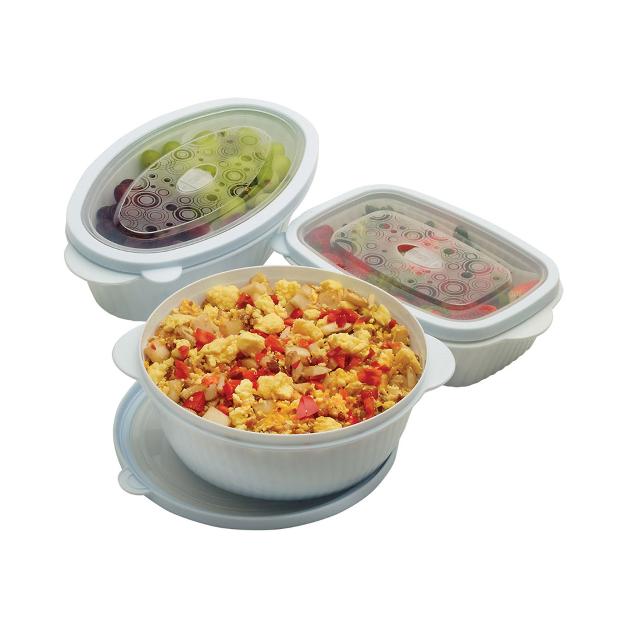 Kitchen Table With Food: Good Cooks 6-piece Table Ready Food Storage Set